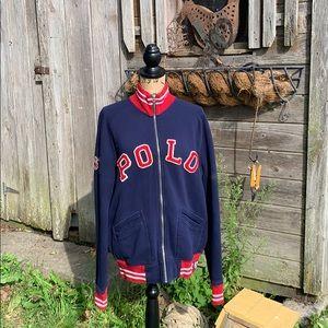 Ralph Lauren Polo track jacket with front zip .